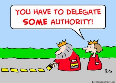 Don't be a perfectionist and delegate some authority