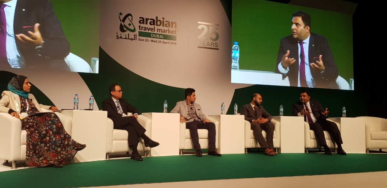 Speaking at the ATM (Arabian Travel Market) 2018 Conference, Dubai