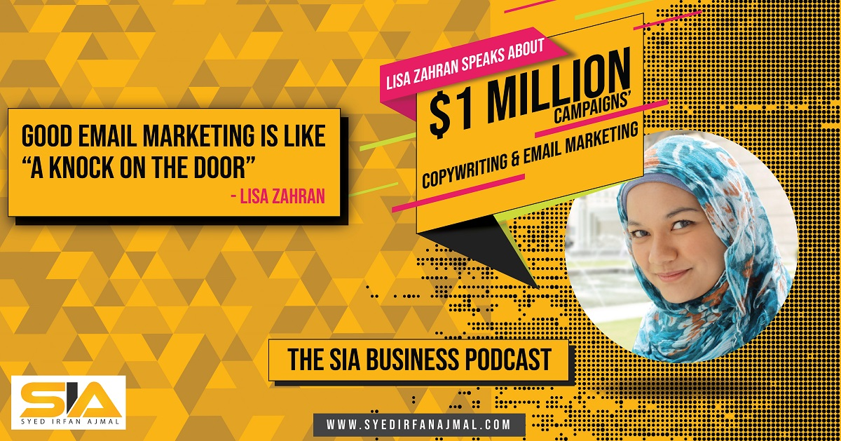 Lisa Zahran on the SIA Business Podcast