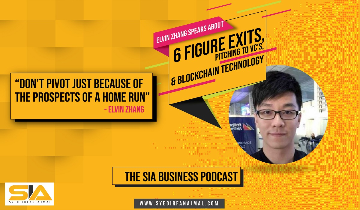 Elvin Zhang's Podcast Interview by Syed Irfan Ajmal