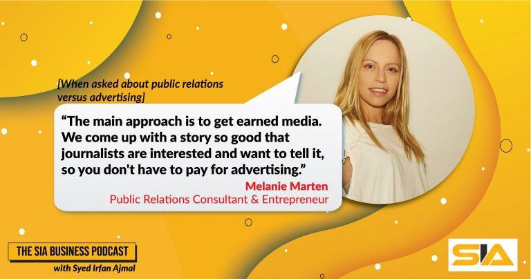Melanie Marten Speaks About Publicity to Syed Irfan Ajmal