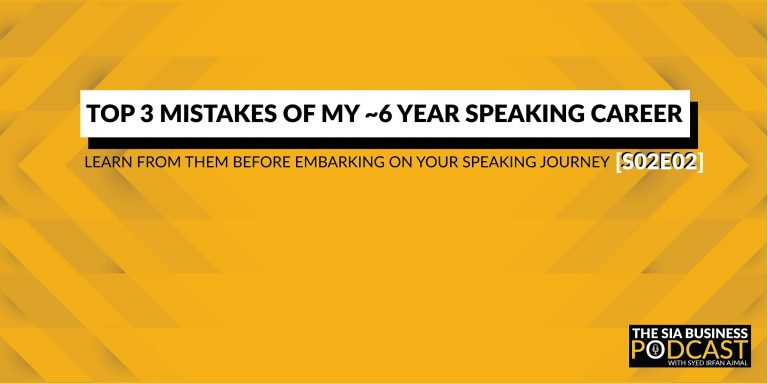 Top 3 Speaking Mistakes - SIA Business Podcast S02E02